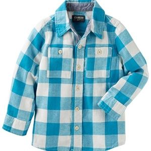 OshKosh B'gosh Shirts & Tops - 👑 4 FOR 25 👑 OshKosh boys plaid button up shirt